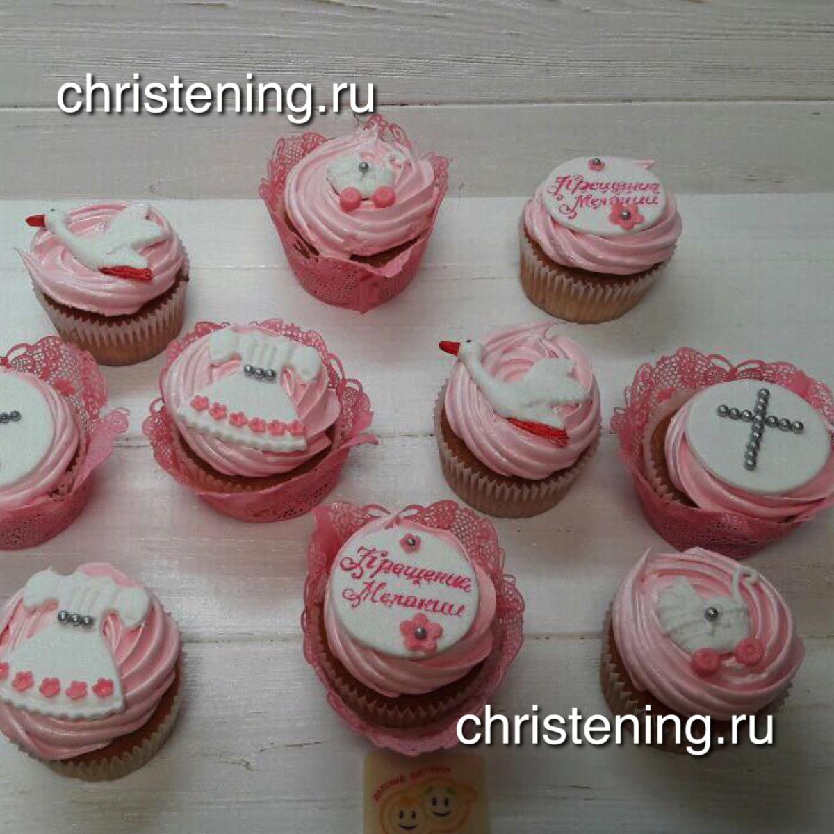 кексы крестильные на крестины фото