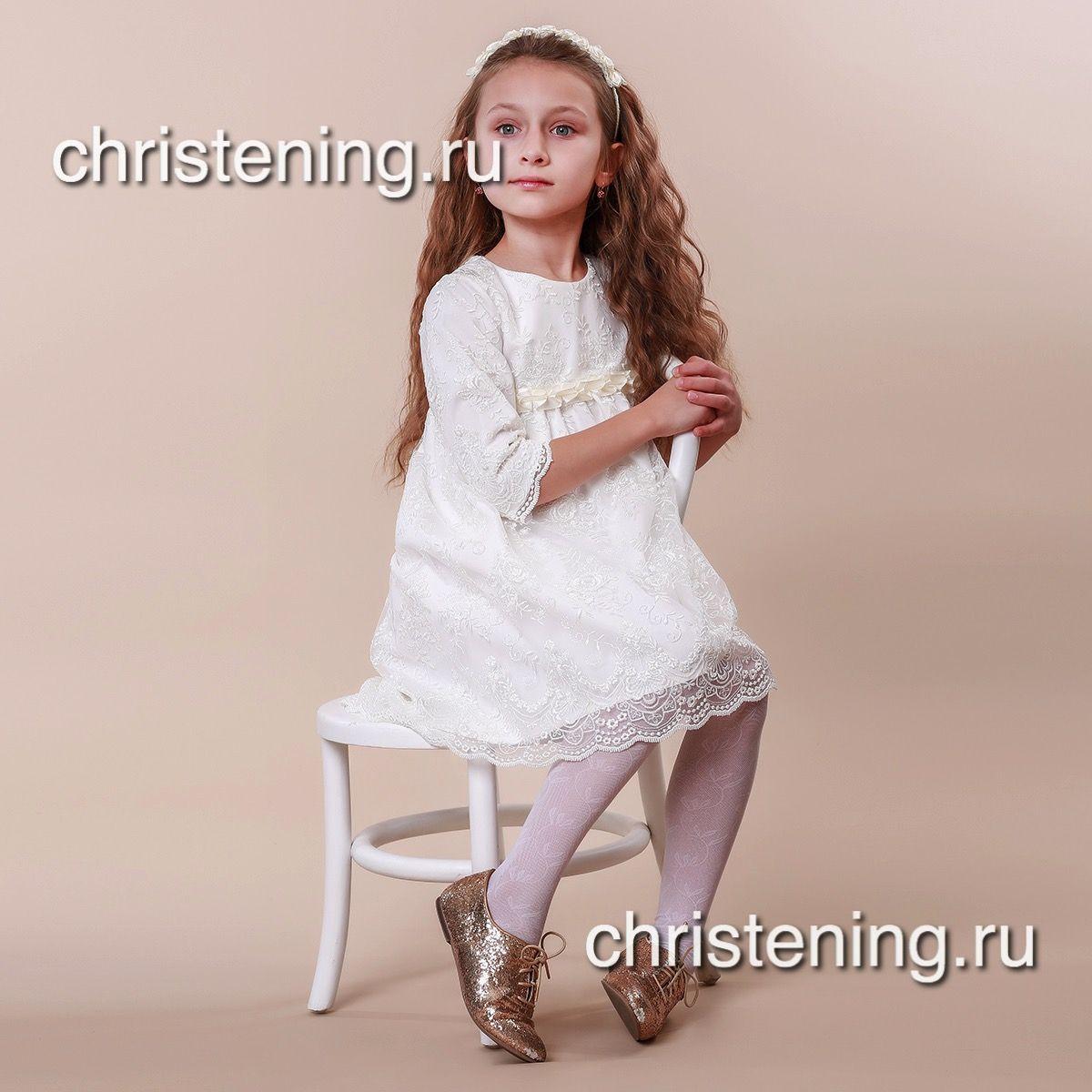 ИЗОЛЬДА Нарядное платье для девочки