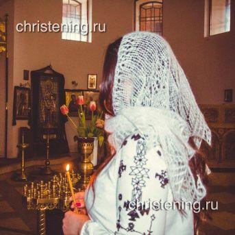 Палантин шаль в церковь ДАР