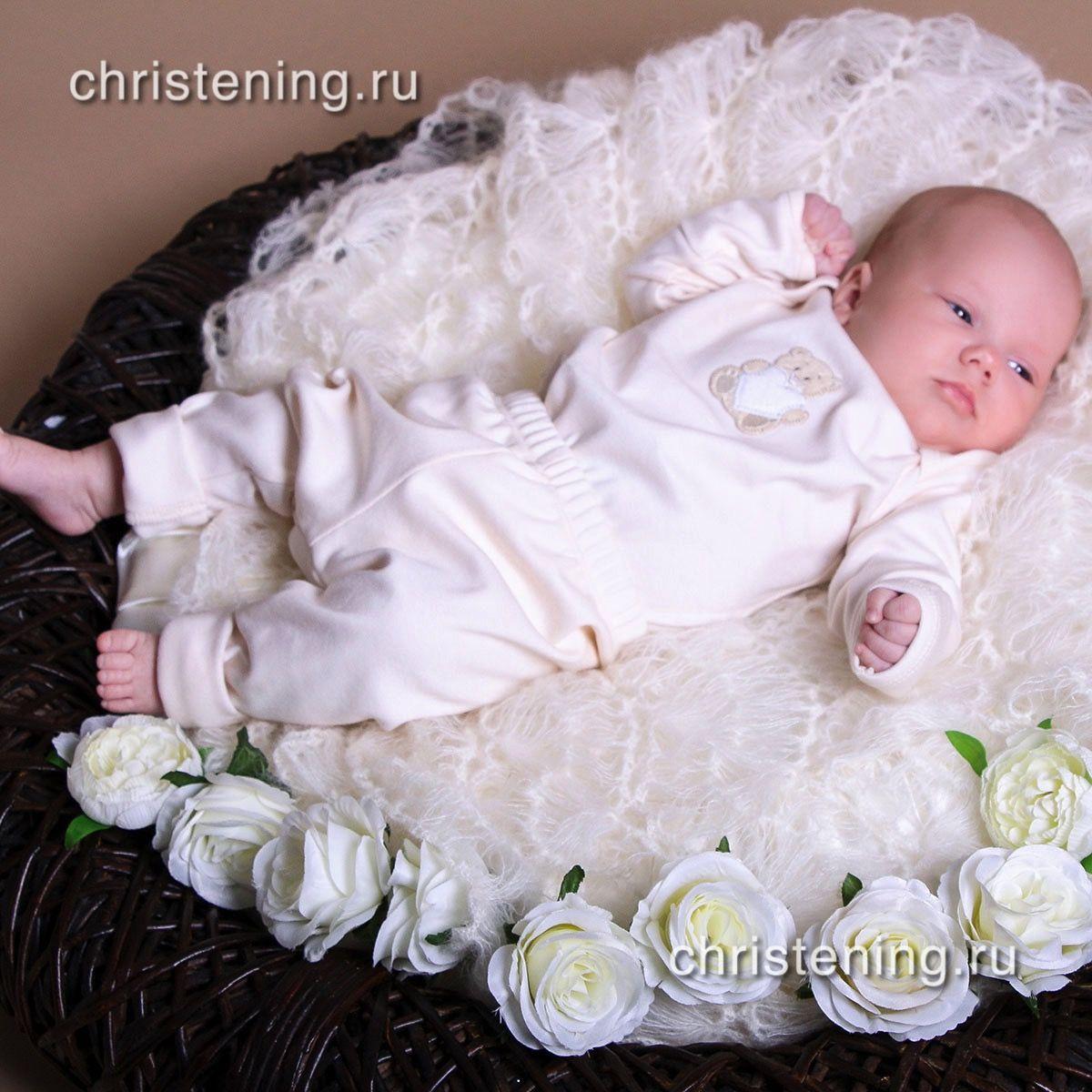 БРЮКИ трикотажные для новорожденного