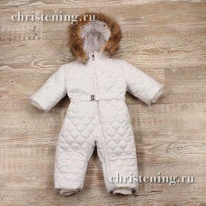 комбинезон зимний для новорожденного