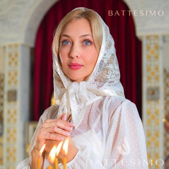 БЕЛИССА кружевной платок
