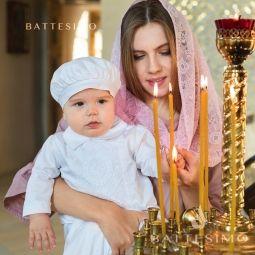 Кружевной платок хомут в храм