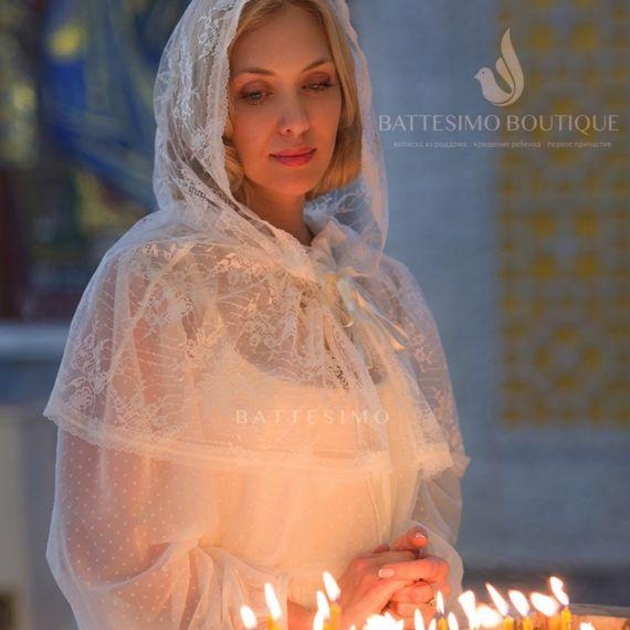БЕЛИССА палантин в храм