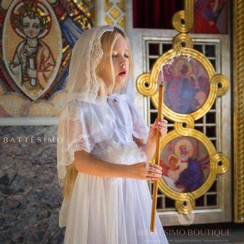 Детский палантин в храм