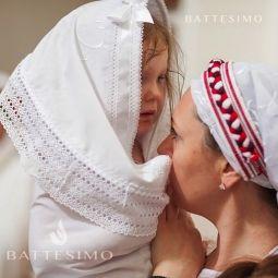 Крыжма для крещения Славянская
