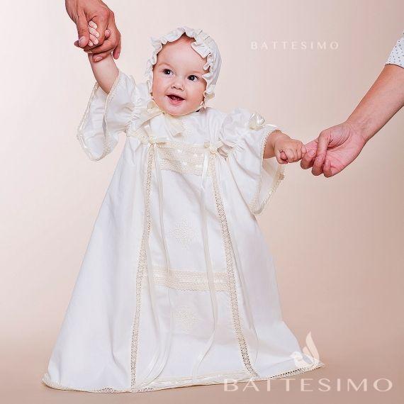 Хлопковое Платье для девочки Винтажное фото