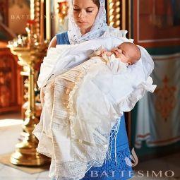 СЕМЕЙНЫЕ ЦЕННОСТИ крестильное полотенце