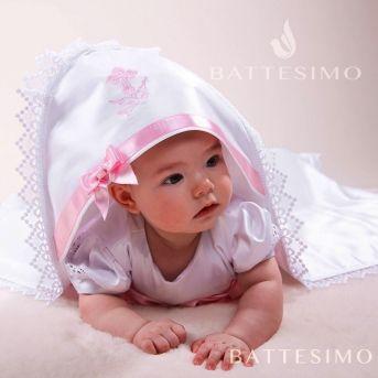 МАЙЯ крестильное полотенце для девочки