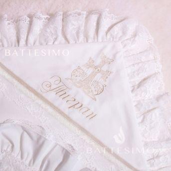 Вышивка ГОЛУБКА (символ крещения)