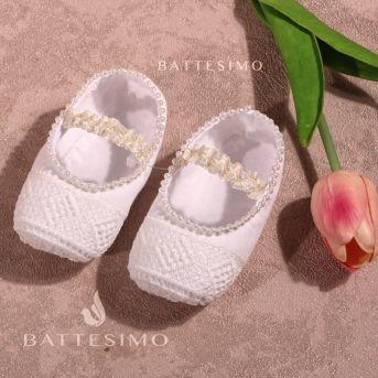 БУСИНКА - пинетки для новорожденного