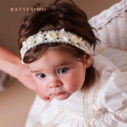 ВИНТАЖНЫЙ ободок на голову для девочки фото