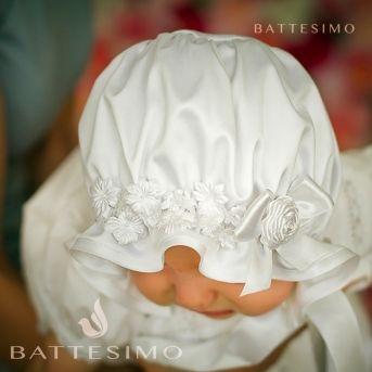 ева шапка с цветочками фото