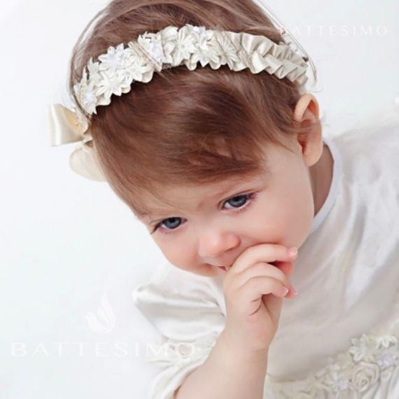 Ободок на голову для девочки с цветочками фото