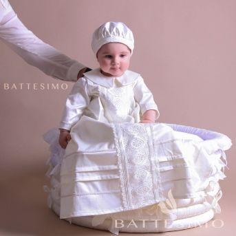 ЕЛИСЕЙ крестильная рубашка для мальчика