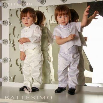 ГЛЕБУШКА Комплект с жилеткой для мальчика