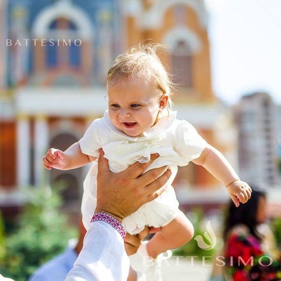 Костюм для крещения мальчика Даниэль
