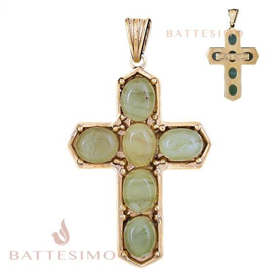 Крестик из янтаря