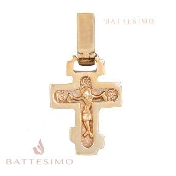 Крестик детский (золото)