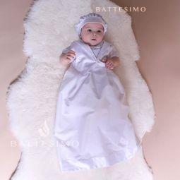 МАЛЕНЬКИЙ ДЖЕНТЛЬМЕН рубашка крестильная для мальчика