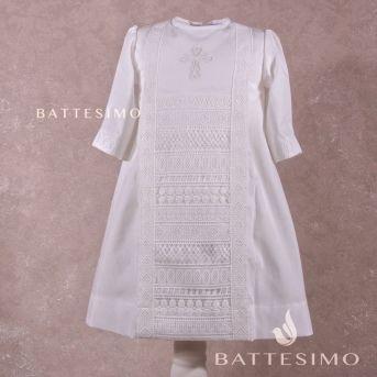 БУСИНКА - рубашка для крещения мальчика