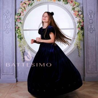 БАРХАТНОЕ - платье для девочки