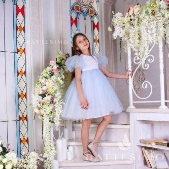 ВИОЛА - пышное платье для девочки