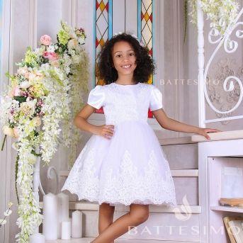 АДЕЛЬ - кружевное пышное платье