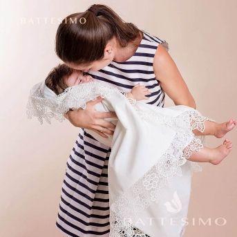 Полотенце для крещения ребенка Глаша купить