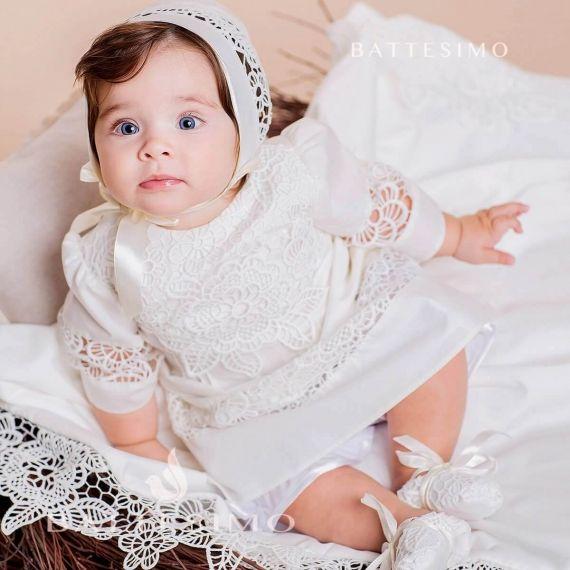 ГЛАША - крестильная рубашка для девочки