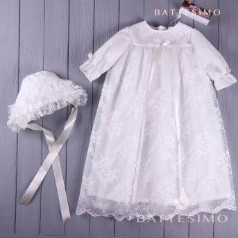 БЕЛИССА - крестильный наряд для девочки