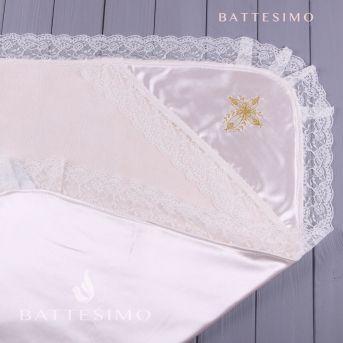 НЕЖНОСТЬ - крестильное полотенце