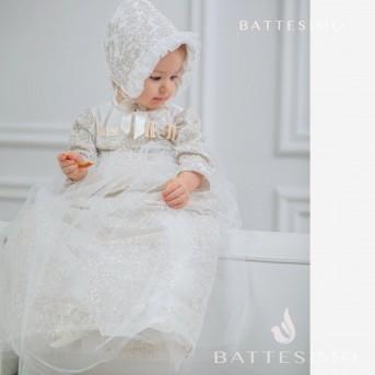 ВИКТОРИЯ - комплект на крестины для девочки
